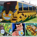 [雲林西螺] 龍貓公車。7-11三井門市