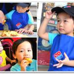 [彰化溪湖] 達美樂披薩體驗營~ 可愛小小披薩員
