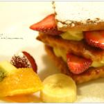 [神戶美食] 佛蘭西菓子 御影高杉~  黃金傳說排隊甜點,草莓千層派