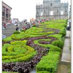 [澳門景點] 大三巴牌坊 名列世界文化遺產 葡式文化的象徵建築