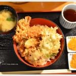 [京都美食] 天富良天周~ 天婦羅丼飯份量十足又好吃
