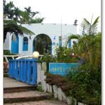 [雲林古坑] 56號藍色公路咖啡 濃濃的地中海風格