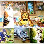 [雲林斗六] 魔法喵屋7-11保庄門市~ 3D立體貓咪彩繪可愛百分百