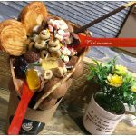 [台中西屯] Senza Fine 夏妃創意餐飲~ 雞蛋仔冰淇淋,華麗好吃有創意