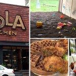 [台中北屯] Nola Kitchen 紐澳良小廚~ 鬆餅炸雞好特別,兒童決明子戲沙區好好玩