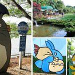[新竹湖口] 松湖休閒親子莊園~ 草地、沙坑、戲水池,有龍貓場景可拍照喔!!
