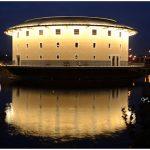 [苗栗後龍] 客家圓樓~ 頗具歷史特色的建築景點,水中倒影超漂亮!
