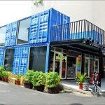 [台中西區] Cuboid茶予茶人氣貨櫃冰飲~ 藍色貨櫃醒目又吸睛,拍照打卡新地標!!!