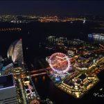 [橫濱景點] The Landmark Tower 無敵夜景~ 一覽摩天輪和港區之美