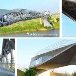 [雲林北港] 天空之橋、女兒橋~ 俯瞰舊鐵道與北港溪景色,國際建築新地標