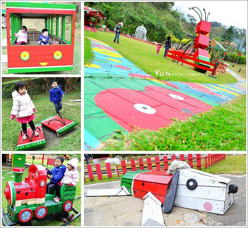 [新竹北埔] 西瓜莊園~ 童趣造景好吸睛,草地滑梯沙坑超好玩