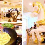 [彰化花壇] 五目坊茉莉館 茉莉公主的花園城堡~ 浪漫的旋轉木馬餐廳,拍照好亮眼