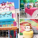 [彰化線西] 興麥蛋捲烘焙王國~ 巨大粉嫩蛋糕及可愛公仔佈景,亮眼好拍且參觀免門票
