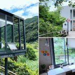 [新竹尖石] Z Cafe景觀咖啡廳~ 浪漫唯美玻璃屋,隱身山林悠閒愜意
