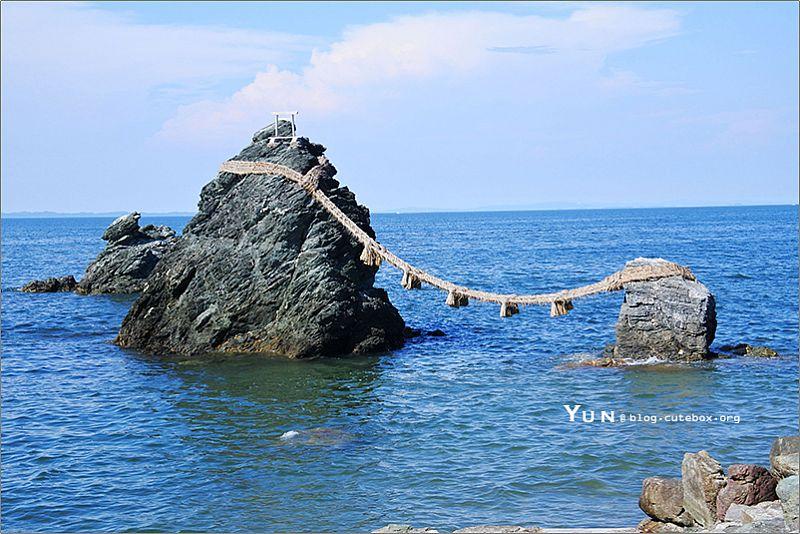 [三重伊勢景點] 二見浦夫婦岩~幸福必訪聖地,無事蛙好可愛!