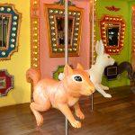 [台中西區] 艸水木堂~ 兔子與松鼠旋轉木馬,拍照打卡夢幻又可愛