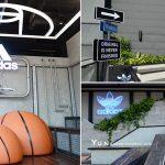 [台中西區] adidas Originals綠園道門市~ 空中花園、顛倒籃球場超好拍!
