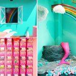 [嘉義景點] Happy Lab.~ 粉嫩糖果牆、扭蛋機牆、美人魚球池,超夯打卡景點