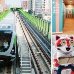 [台中捷運綠線] 中捷票價、路線、沿途美食及旅遊景點懶人包~