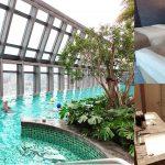 [新北住宿] 板橋凱撒大飯店~ 緊鄰三鐵客運,擁有絕美無邊際高空泳池