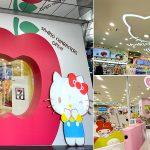 [台中景點] Kitty迷必衝!! 7-11首間粉色三麗鷗聯名X-Store,粉嫩登場~